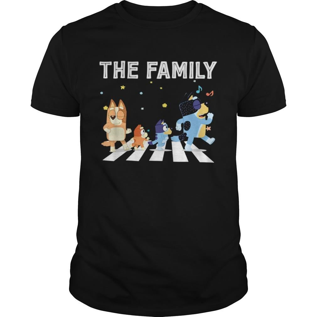 The Heeler Family Bluey Dad Mom For