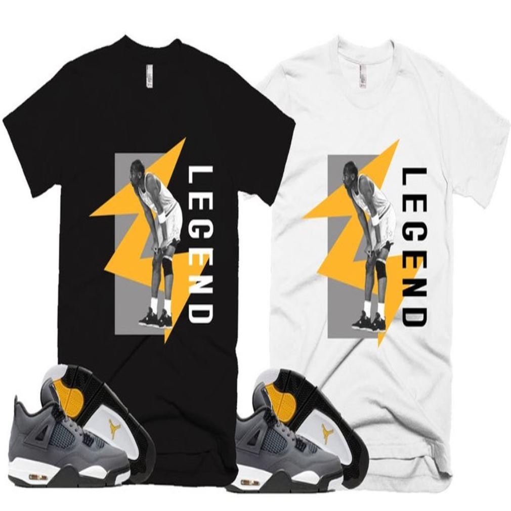 Awesome T-shirt Trill Flight Cool Kobe Bryan Legend T-shirt Retro Jordan 4 Colorblock T-shirt Air Jordan 4 Retro Cool Grey So Incredible