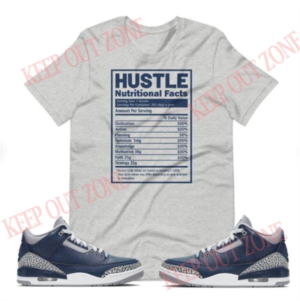 Air Jordan 3 Midnight Navy Shirt Air Jordan 3 Shirt Midnight Navy Shirt
