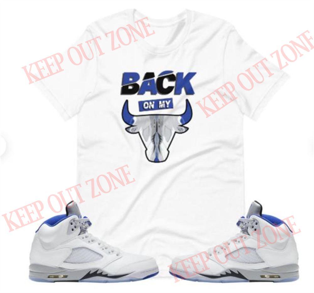 Air Jordan 5 Stealth 20 Shirt- Air Jordan 5 Shirt- Jordan Stealth 5 Shirt