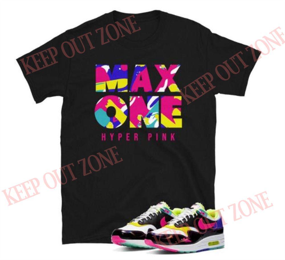 Air Max 1 Hyper Pink Unisex T-shirt