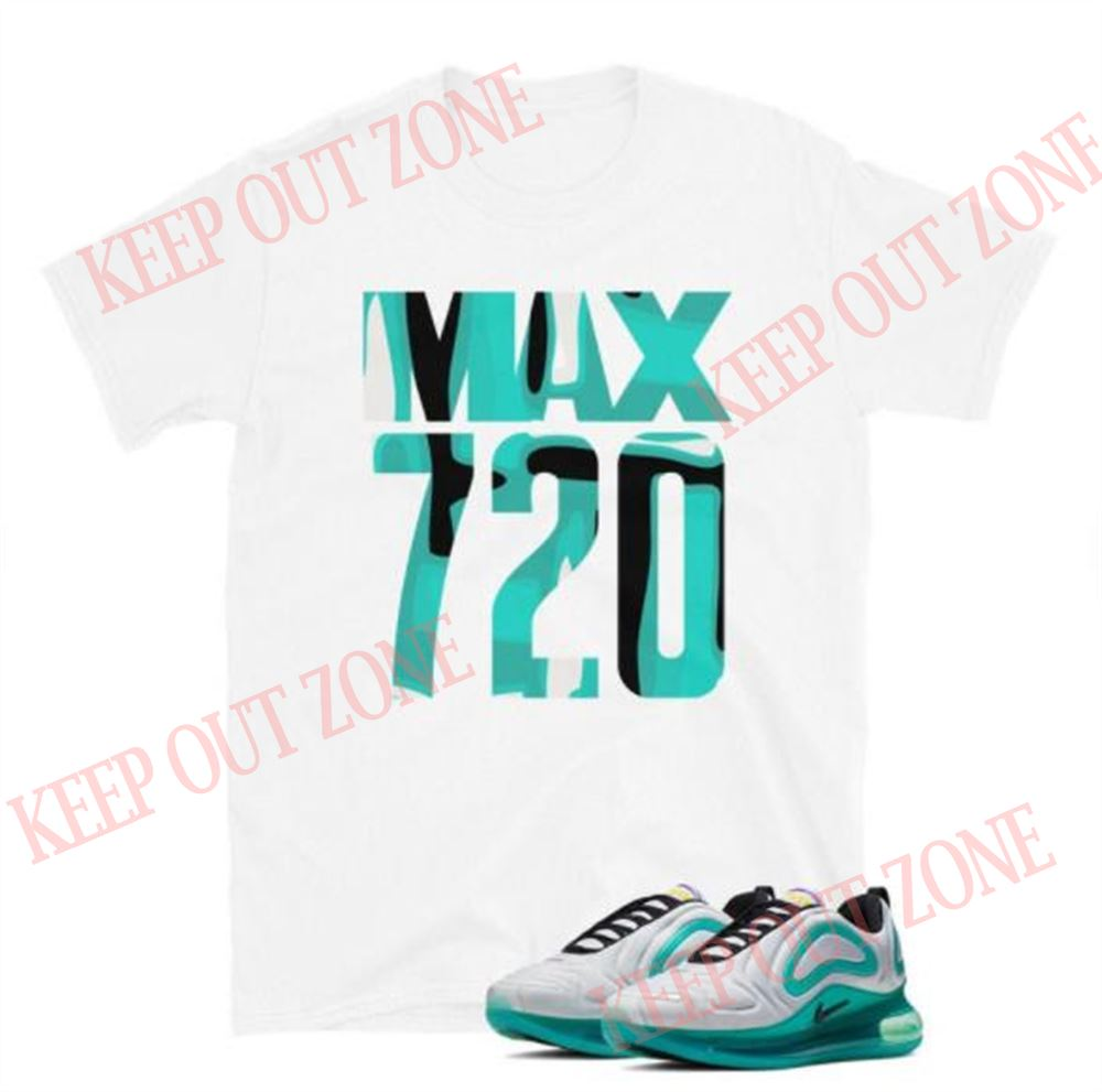 Air Max 720 White Teal Unisex T-shirt