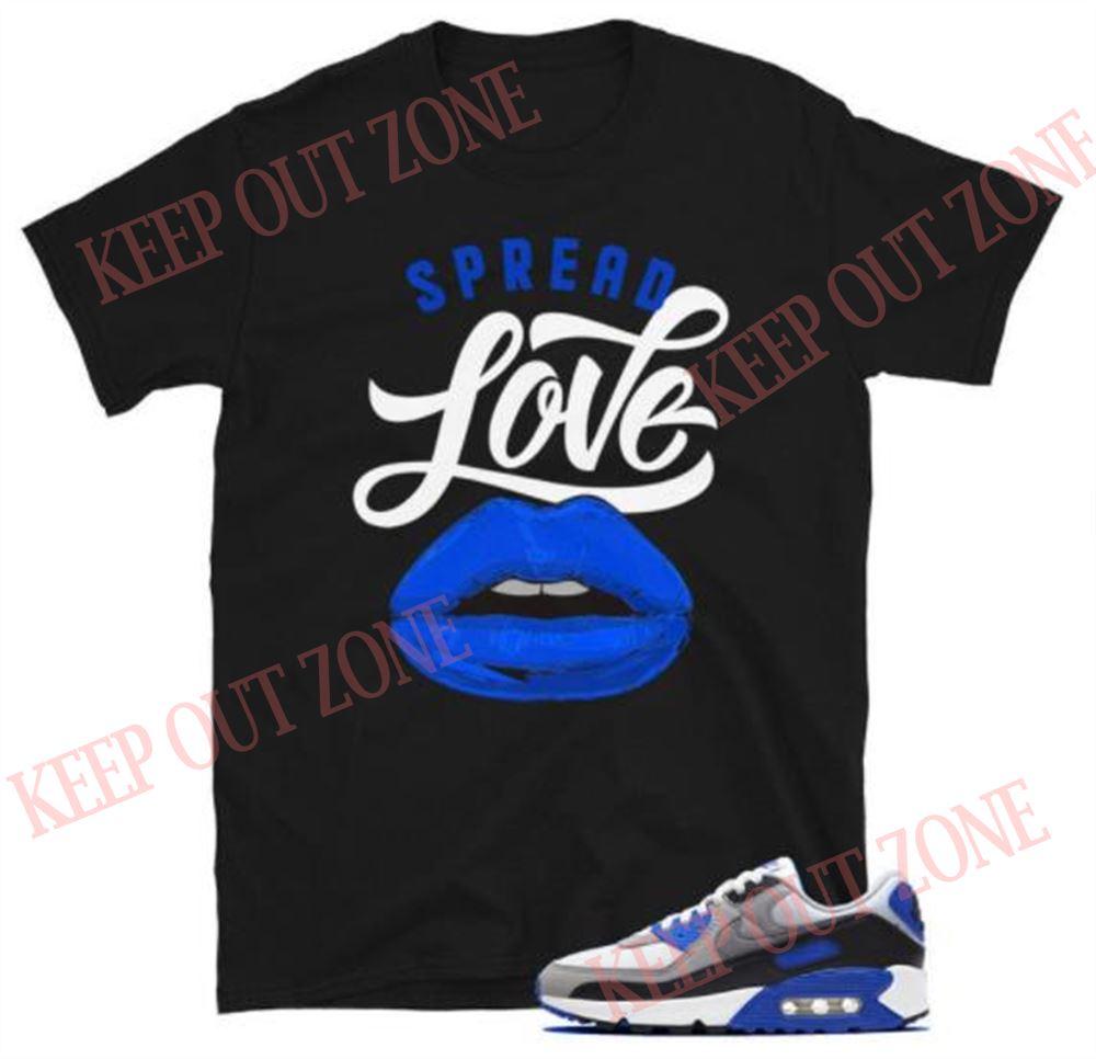 Air Max 90 Og Tee Hyper Royal Spread Love Short-sleeve Unisex T-shirt