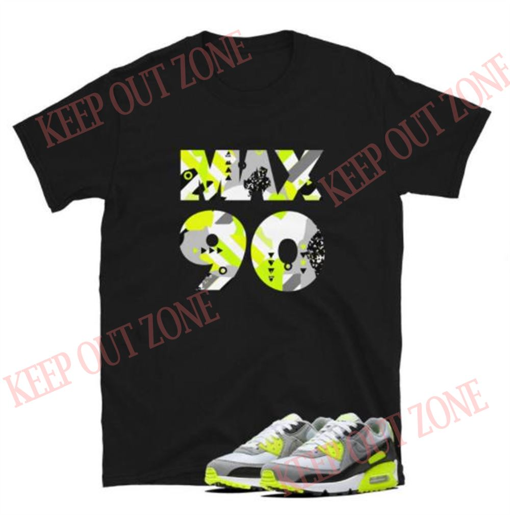 Air Max 90 Og Volt Yellow Short-sleeve Unisex T-shirt