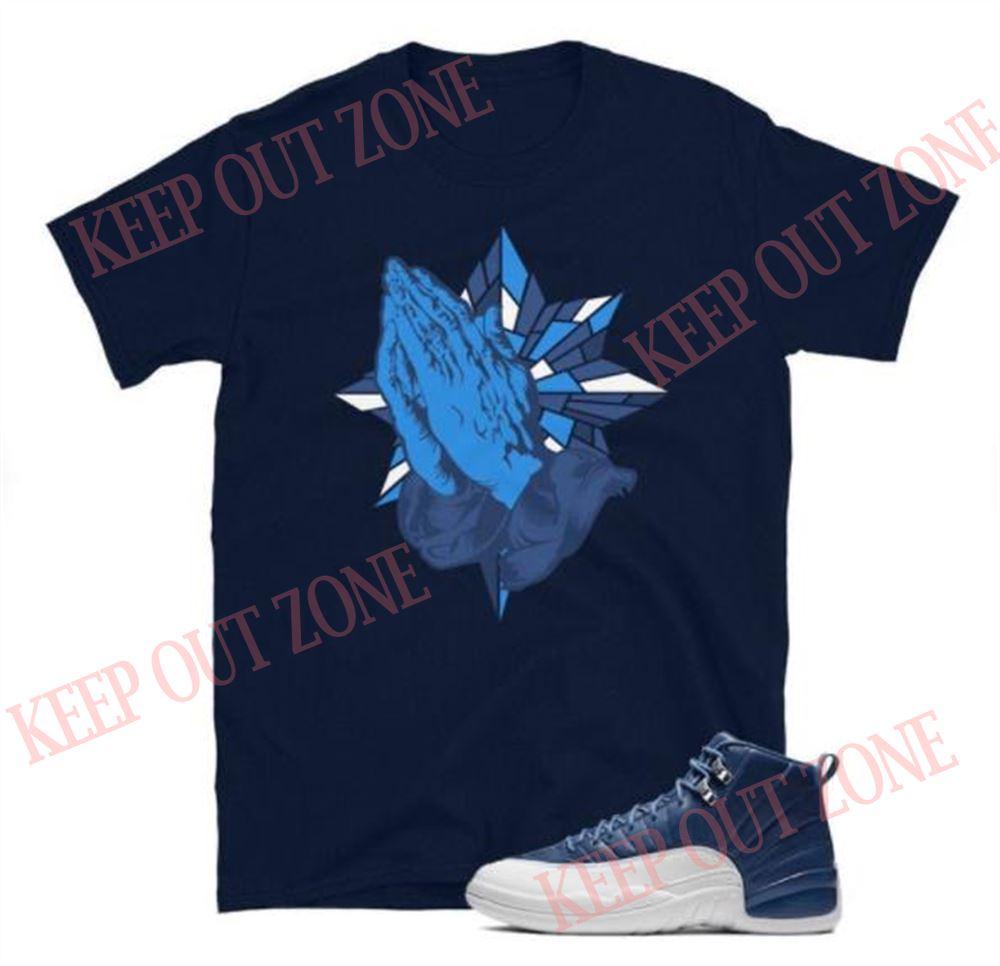 Amazing Tee Blessed Tee Jordan 12 Retro Indigo Unisex T-shirt Brilliant T-shirt