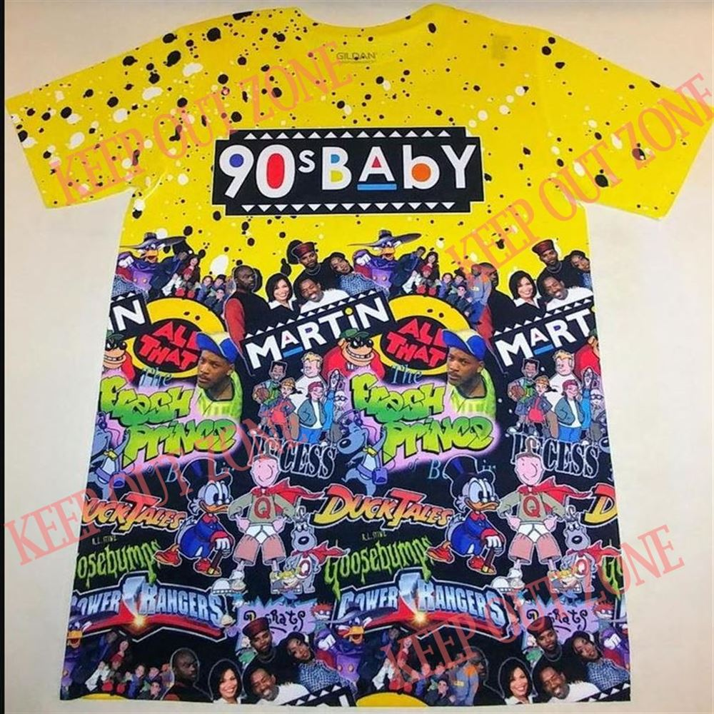 Great Tee Custom 80_s Baby 90_s Baby Tshirt Martin All That Fresh Prince So Wonderful