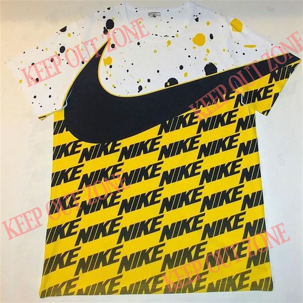 Cool Custom Yellow Nike Inspired Shirt Air Jordan 1 Yellow Toe Jordan 12 University Gold So Incredible