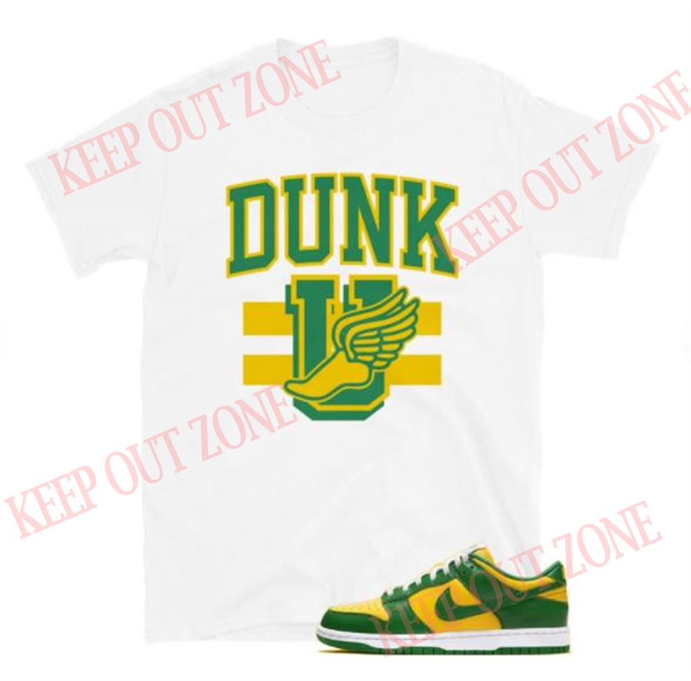 Amazing Tee Dunk Low Brazil Tee Schooled Unisex T-shirt So Beautiful