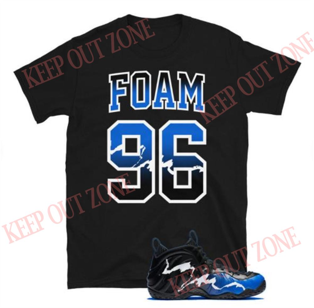 Terrific T-shirt Foamposite One 1996 All-star Unisex T-shirt 100% Cotton