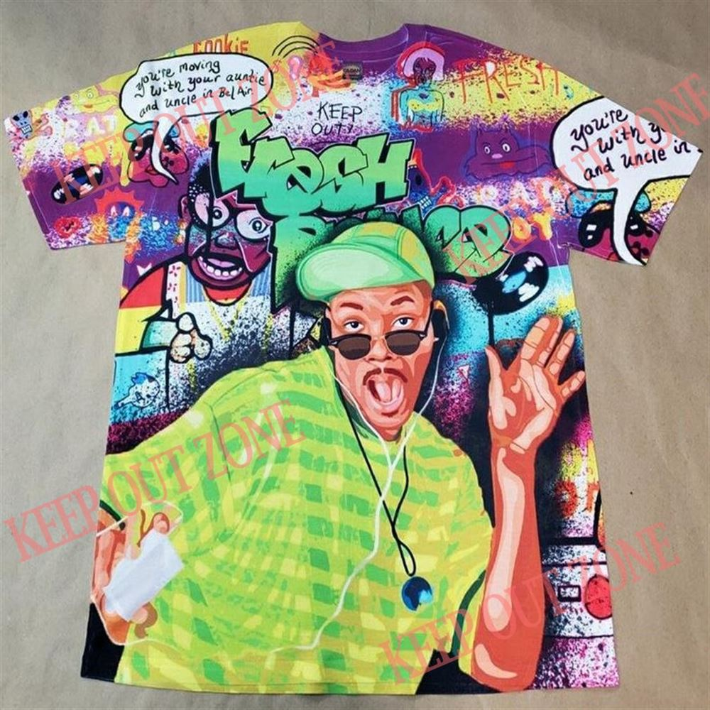 Awesome Fresh Prince Shirt Bel Air 5 1 Bio Hack New 2021