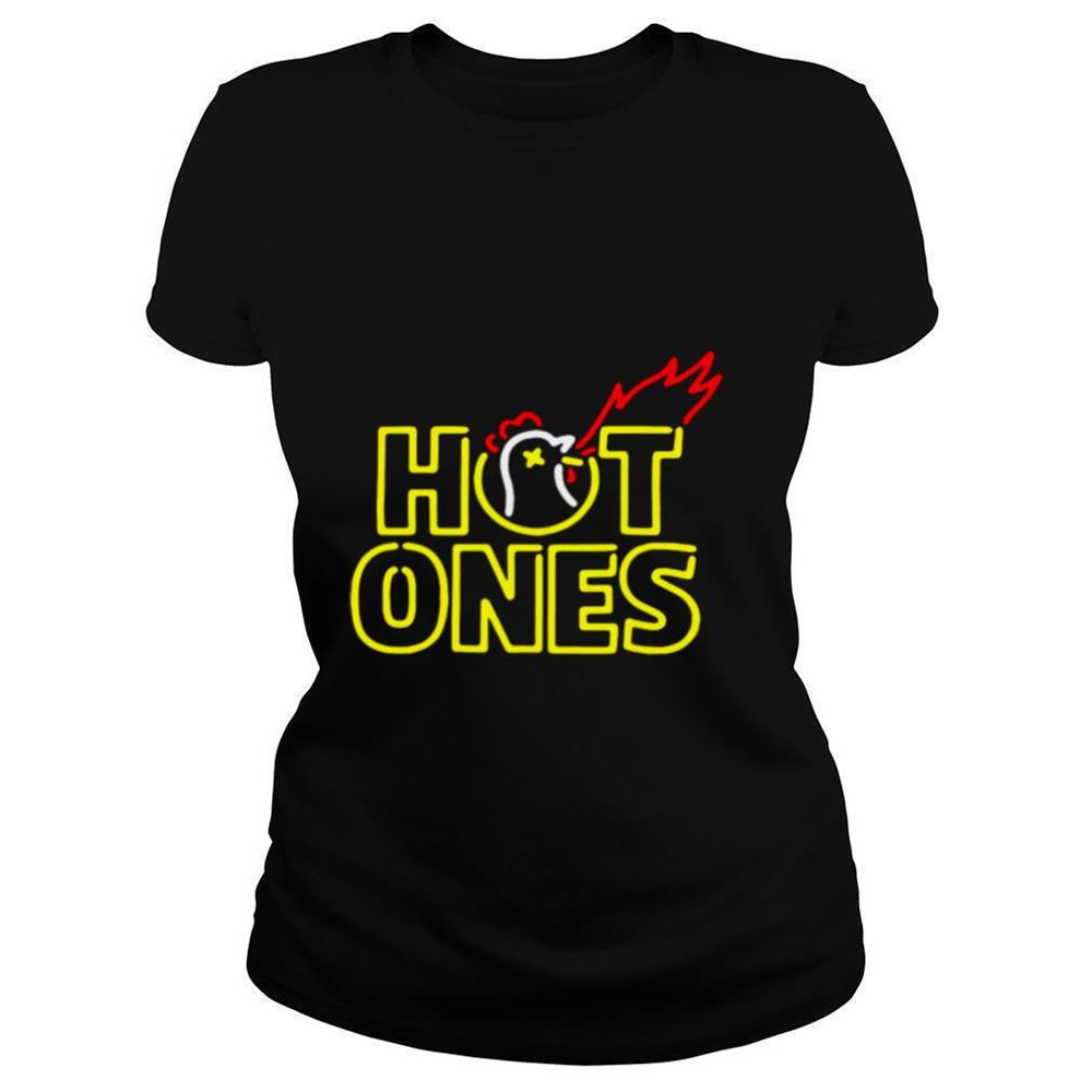 Cool Hot Ones T Shirt 100% Cotton