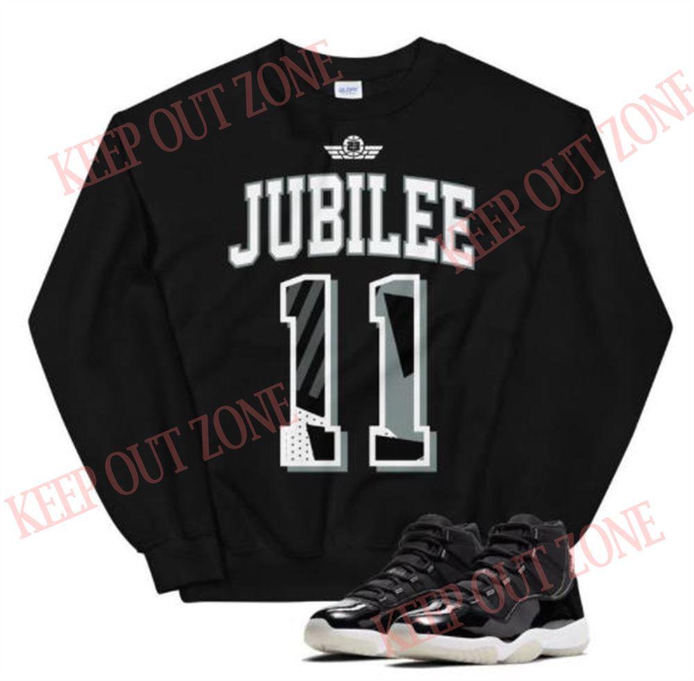 Awesome T-shirt Jordan 11 Retro Jubilee Unisex Sweatshirt Brilliant T-shirt