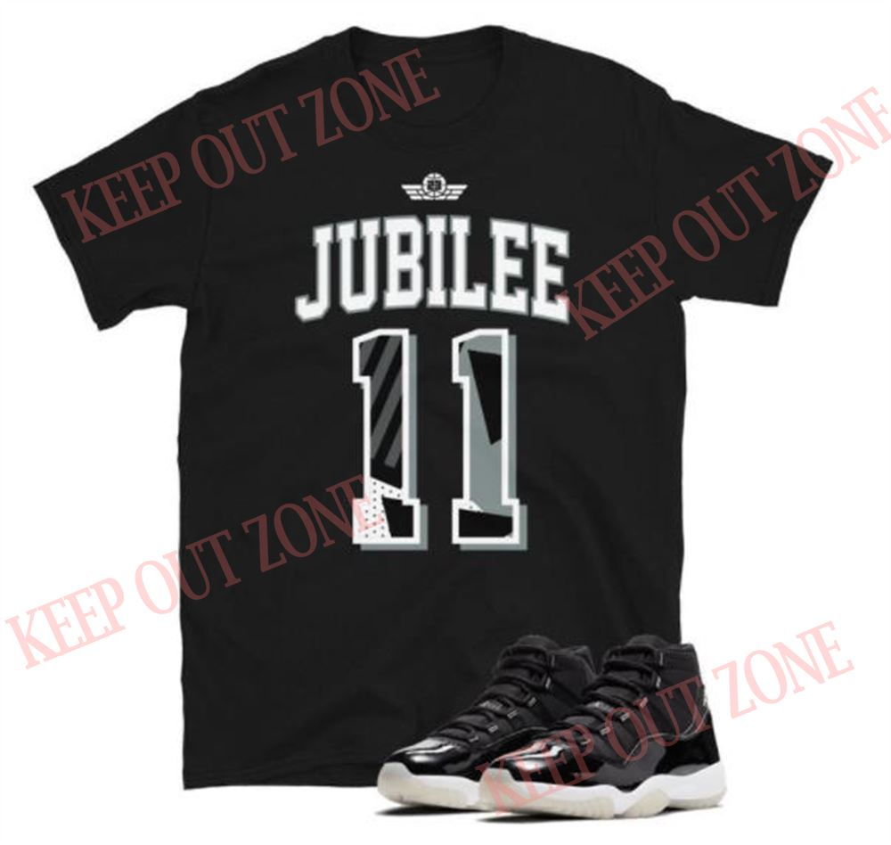 Great Jordan 11 Retro Jubilee Unisex T-shirt So Wonderful