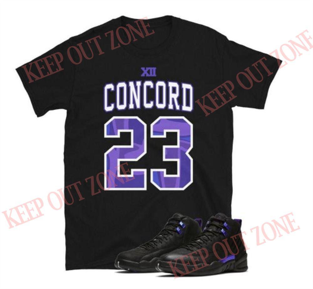 Terrific Tees Jordan 12 Retro Dark Concord Unisex T-shirt So Beautiful