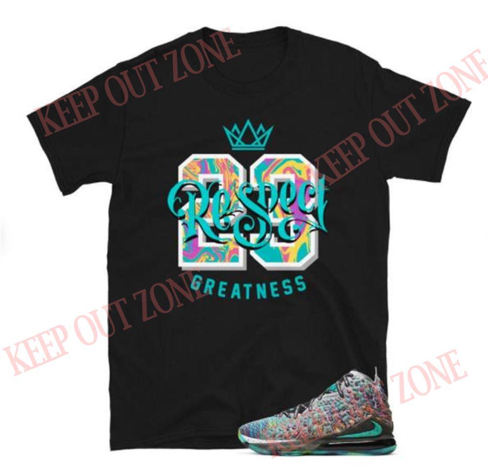 Awesome T-shirt Lebron 17 I Promise Tee Respect Goat Short-sleeve Unisex T-shirt New 2021