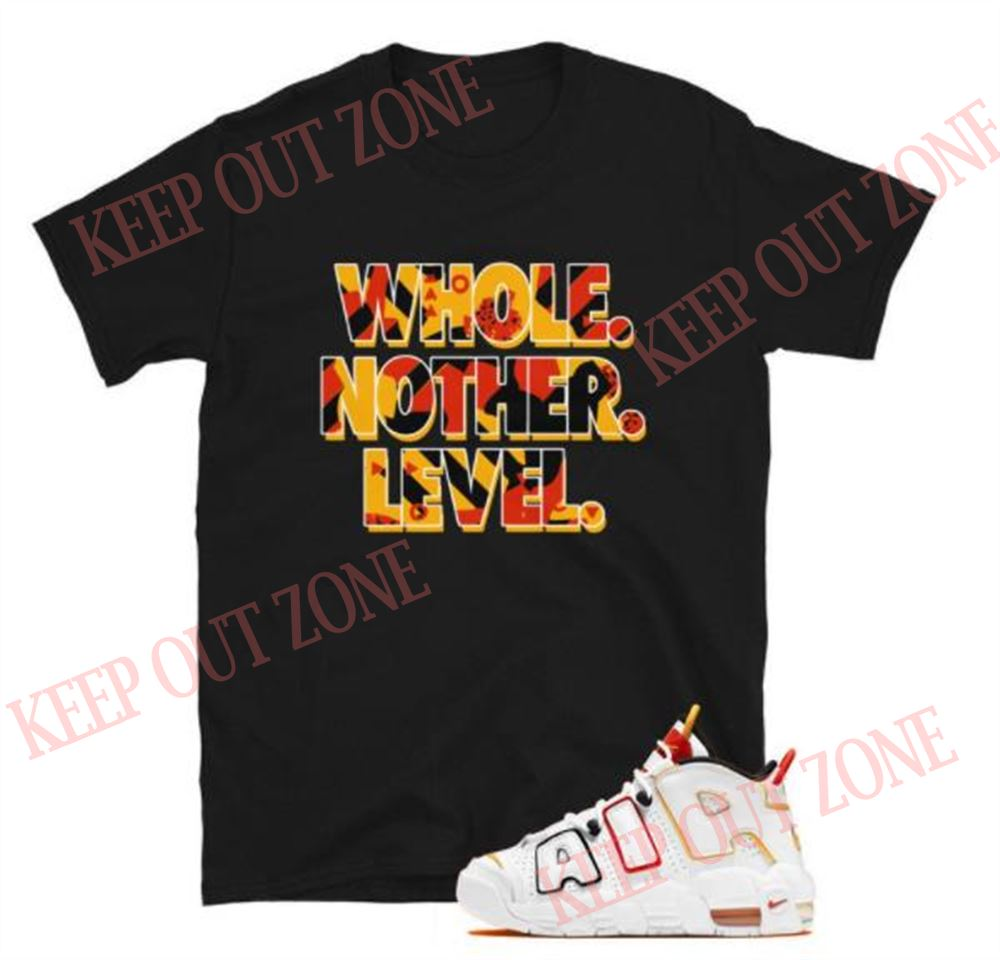 Great Tee Level Up Tee Air More Uptempo Rayguns Unisex T-shirt So Incredible