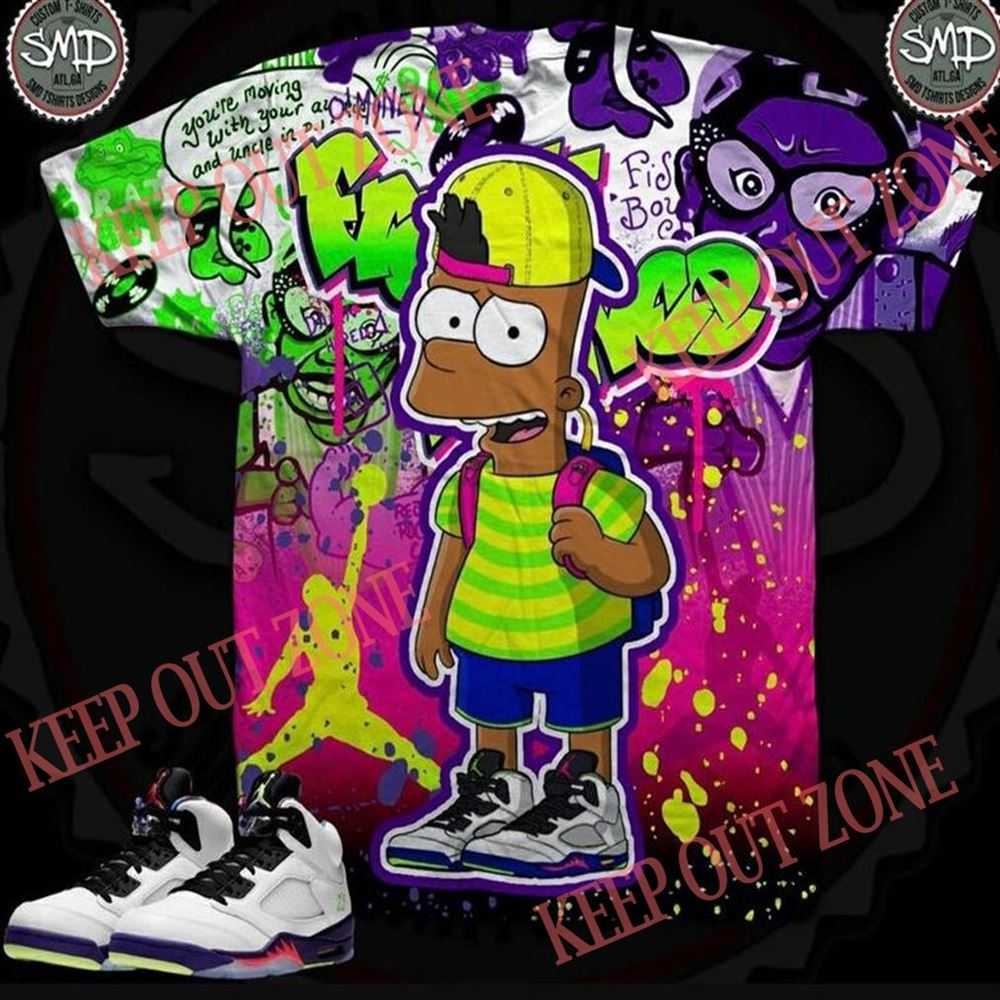 Awesome Melanated Bart Simpson Fresh Prince Bel Air 5 Marvelous
