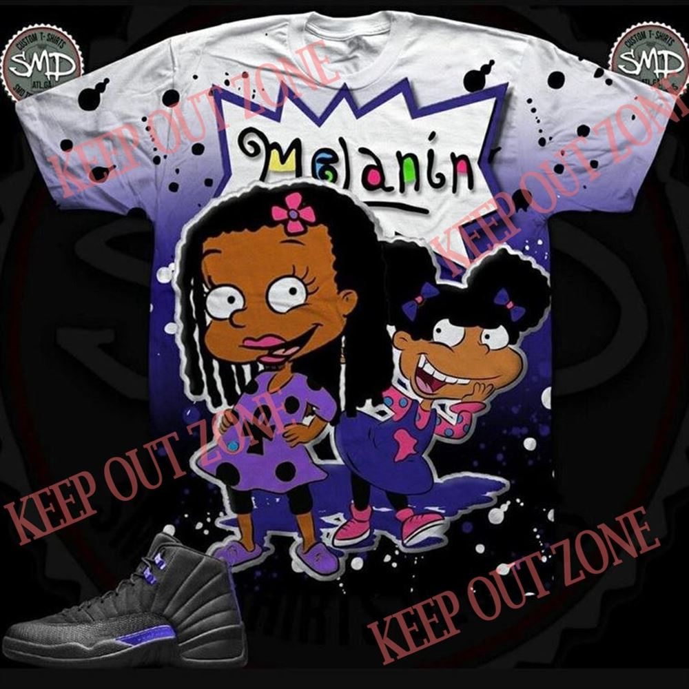 Great Melanin Rugrats Black Concord Shirt Hot 2021