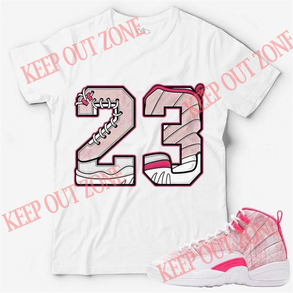 Awesome T-shirt Number 23 Unisex T-shirt Match Jordan 12 Hyper Pink Hot 2021
