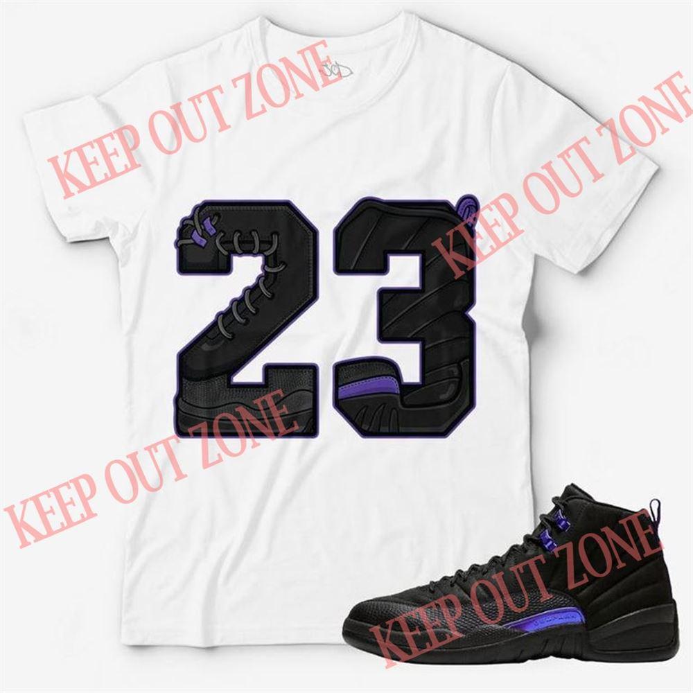 The Bee's Knee T-shrirt Number 23 Unisex T-shirt Match Jordan 12 Retro _quot_concord_quot_ So Beautiful