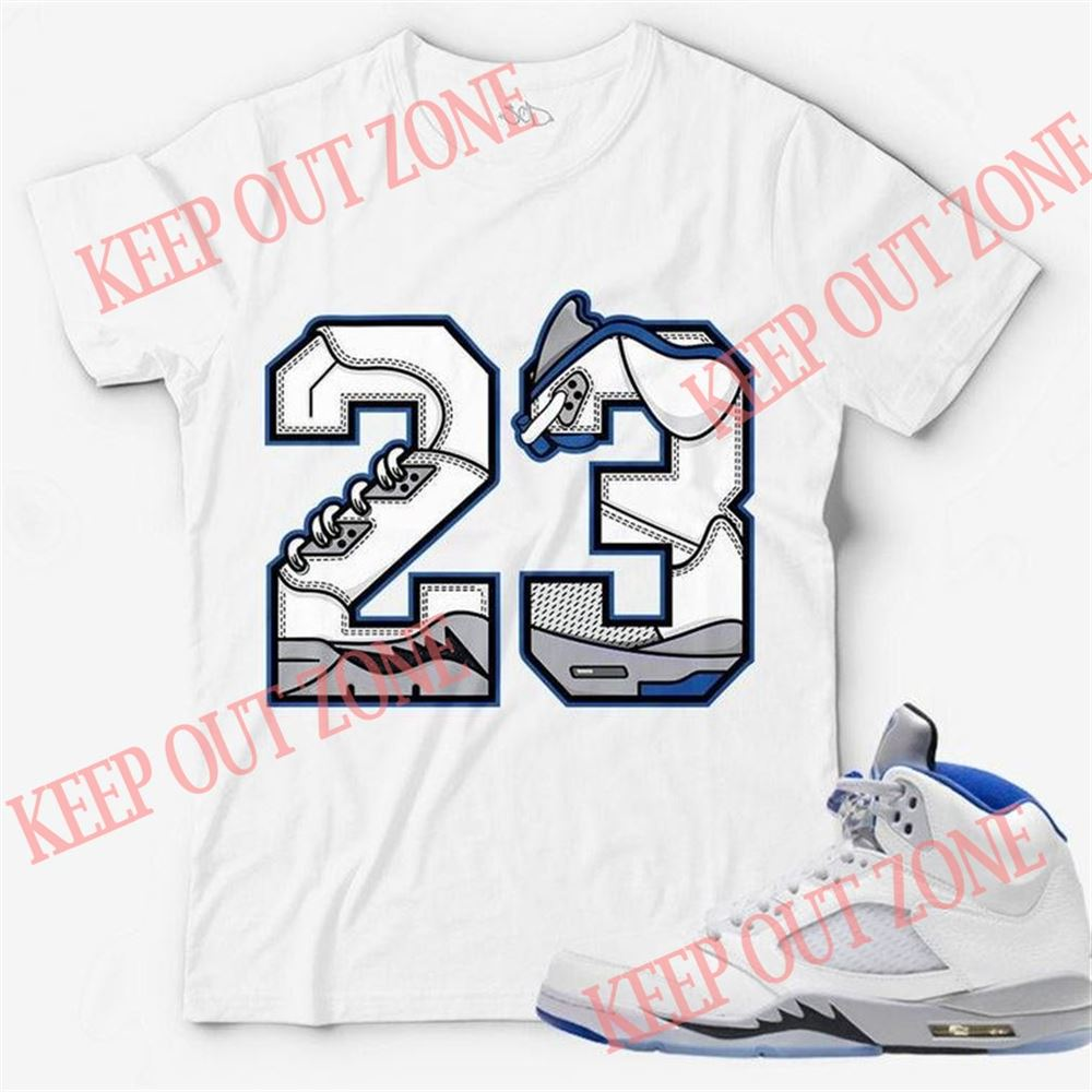 The Bees Knees Tee Shirt Number 23 Unisex T-shirt Match Jordan 5 _quot_stealth So Epic