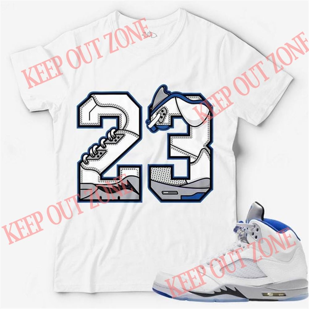 Amazing Number 23 Unisex T-shirt Match Jordan 5 Stealth So Incredible