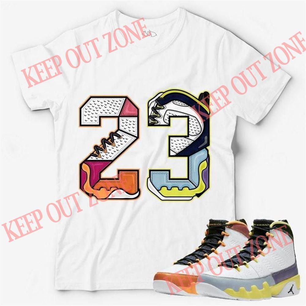 Cool Number 23 Unisex T-shirt Match Jordan 9 Change The World So Incredible
