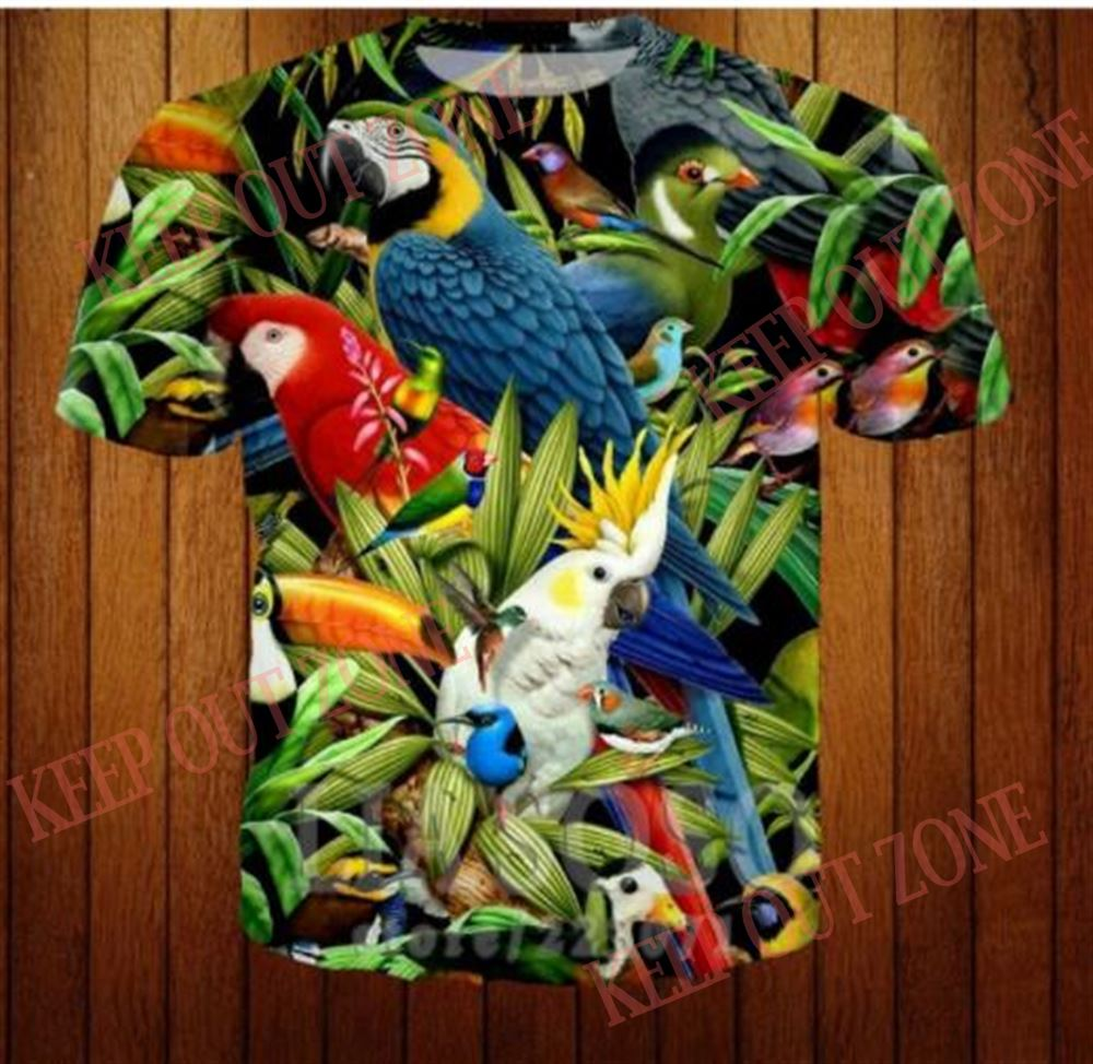 Great Parrot Birds Hoodie Cloth Unisex Hoodie Summer Winter Cloth Hoodie Tshirt Gift New So Epic