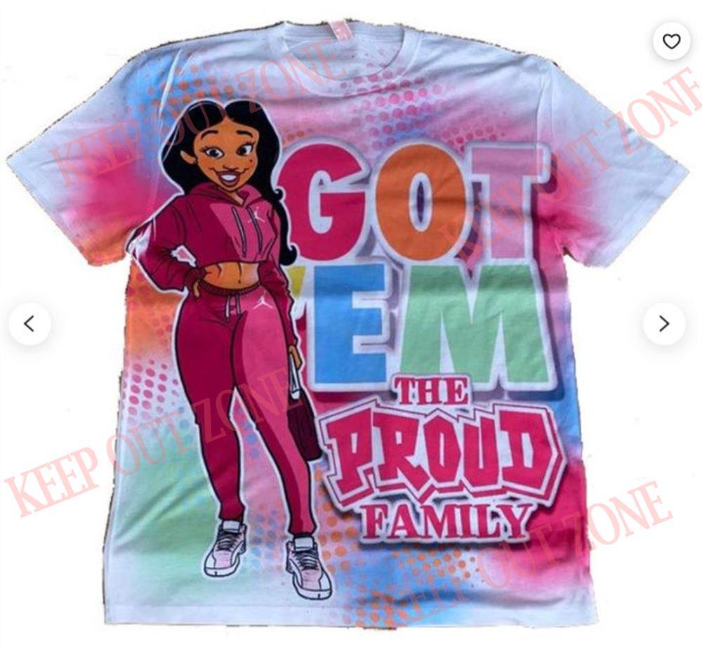 Fantastic Penny Proud Shirt Air Jordan Retro 12 Arctic Punch Sneaker Tee Retro 12 Pink Shirt Pink Retro 12 Tee Got Em Tee Got Em Hand 3d T-shirt 100% Cotton