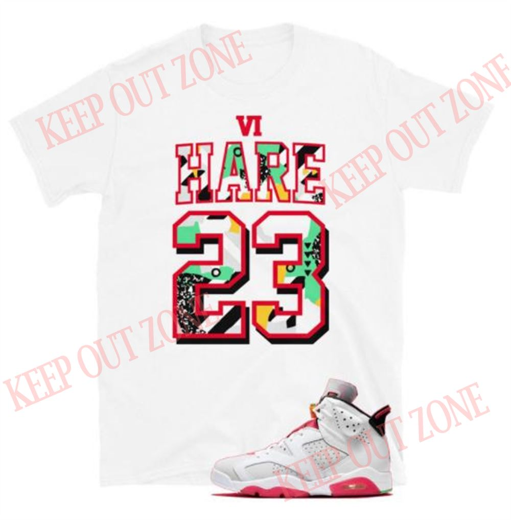 Great Tee Rare Air Tee Jordan 6 Retro Hare Unisex T-shirt 2021 Brilliant T-shirt