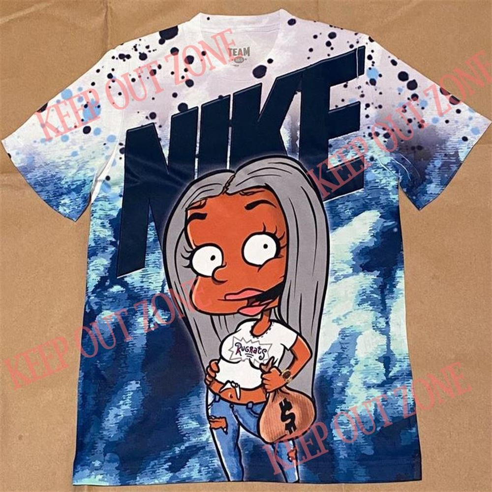 Awesome T-shirt Rugrat Susie Tie Dye Jordan Brilliant T-shirt