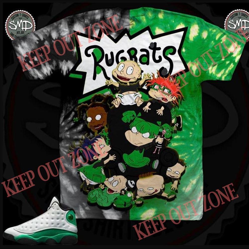 Fantastic Rugrats Lucky Green Shirt Marvelous