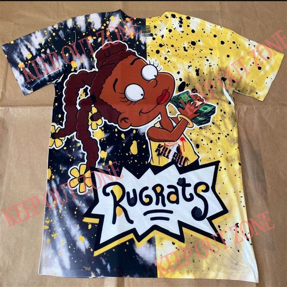 Awesome T-shirt Rugrats Susie Shirt Air Jordan 12 Black University Gold For Men And Women
