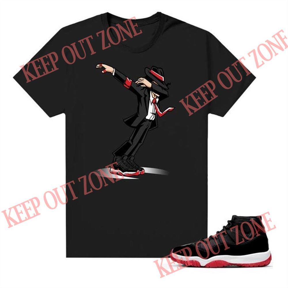 The Bees Knees Tee Shirt Smooth Criminal Black Shirts Tees Match Jordan 11 Bred Marvelous