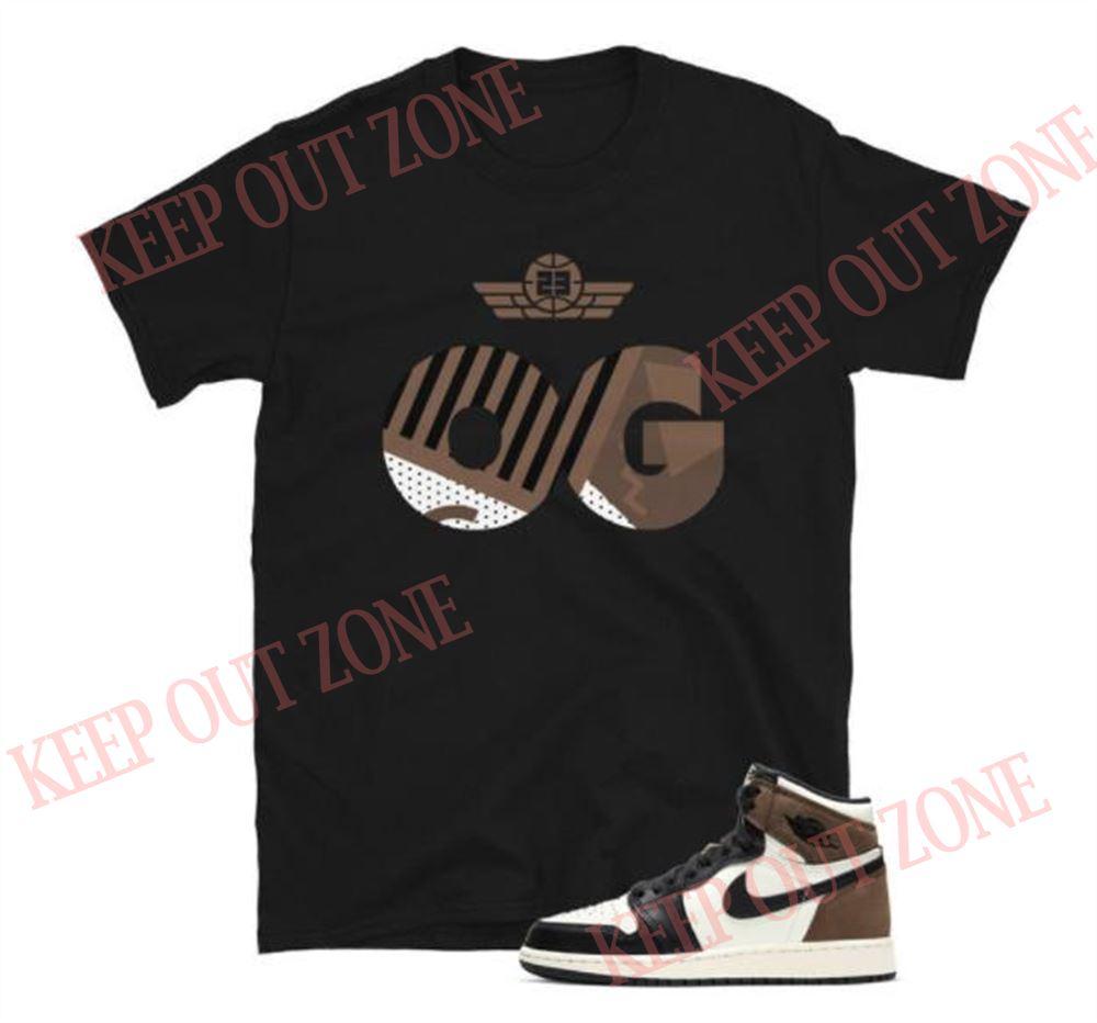 The Bees Knees Tee Shirt Sneaker Og Tee Jordan 1 Retro Dark Mocha Unisex T-shirt Hot 2021
