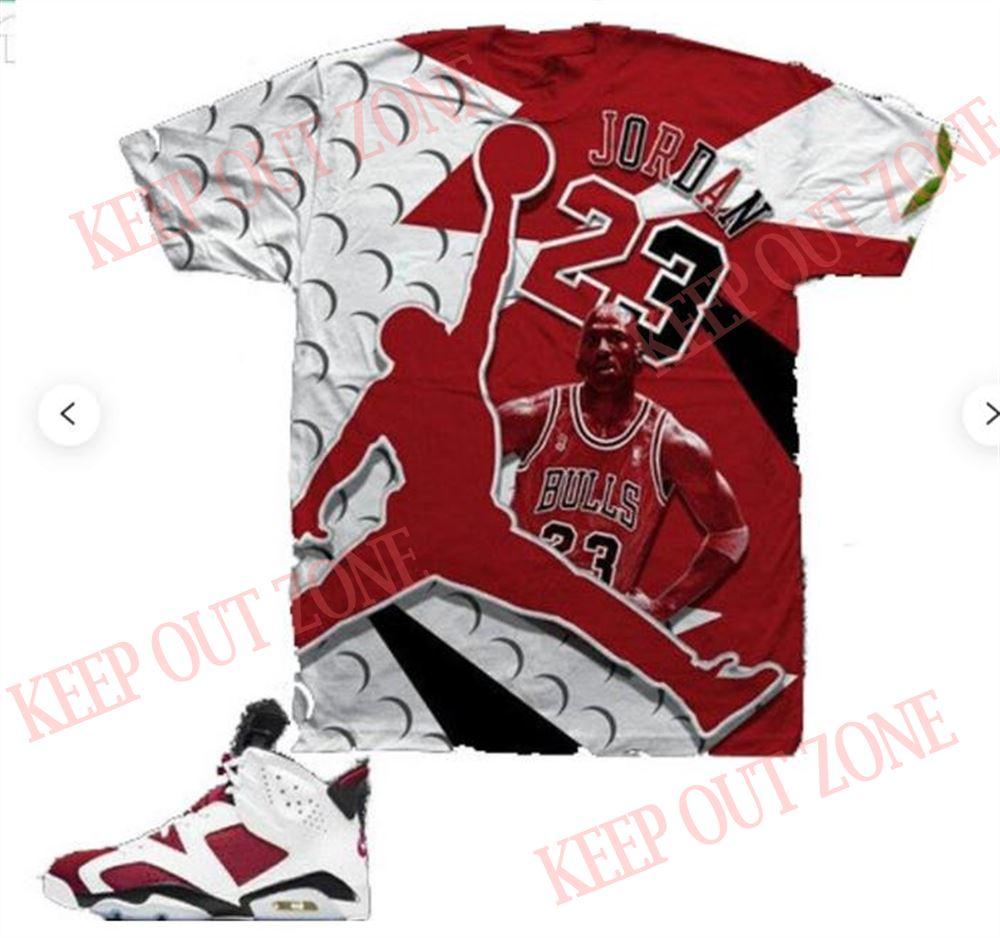 Amazing Split Carmine Shirt 2021 Sneaker Match Unisex T-shirt Made To Match Jordan 6 Carmine 2021 T-shirt So Beautiful