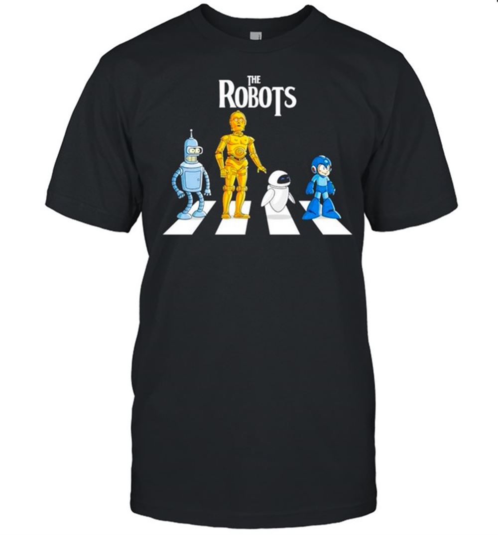 Fantastic Star Wars The Robots Abbey Road Shirt Brilliant T-shirt