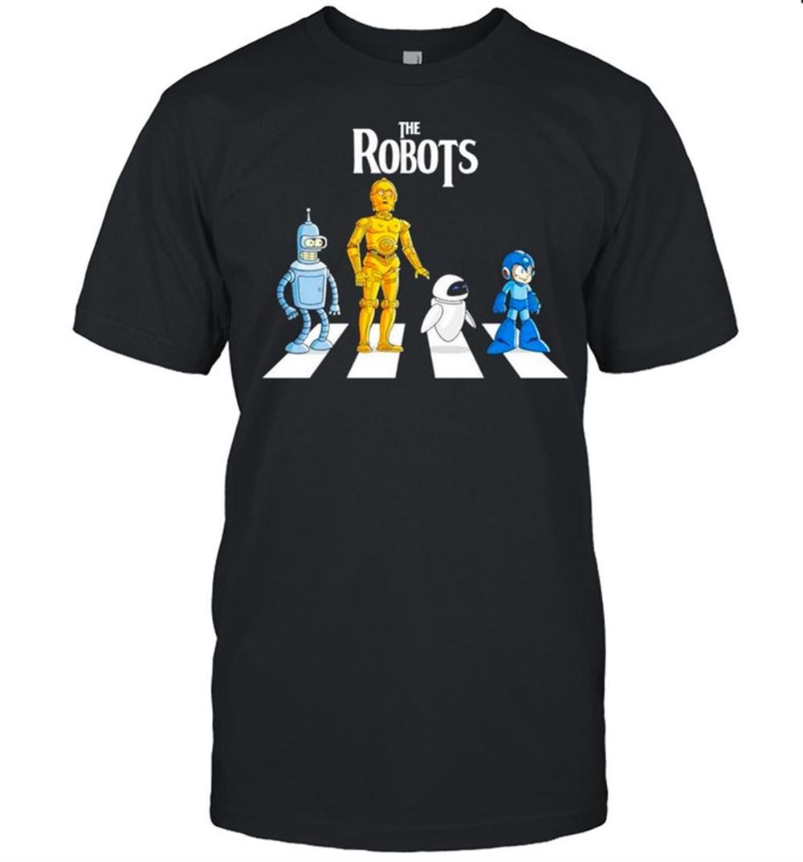 Fantastic Star Wars The Robots Abbey Road Shirt Brilliant T-shirt