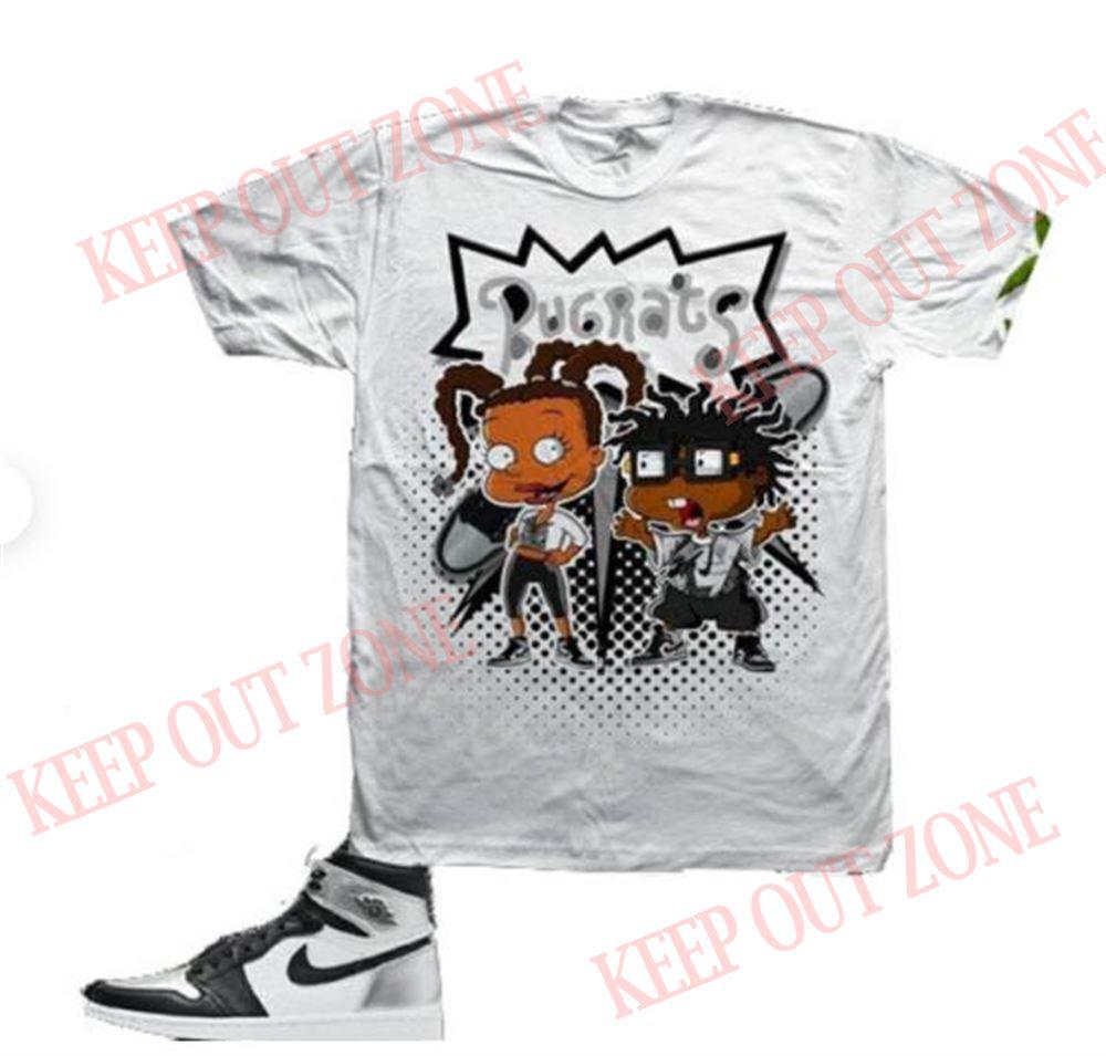 Cool Susie _ Chuckie Mickey Shirt - Vinyl Design Rich Kid Susie Rugrats 3d T-shirt Match Air Jordan 1 Retro High Og Silver Toe Marvelous