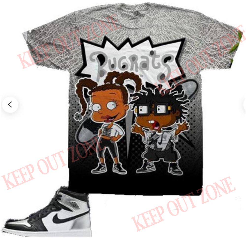 Terrific T-shirt Susie Chuckie Shirt Air Jordan 1 Silver Toe Sneaker Shirts And Sneaker Matching Outfits Susie _ Chuckie Shirt Special Sneakerhead Gifts Marvelous