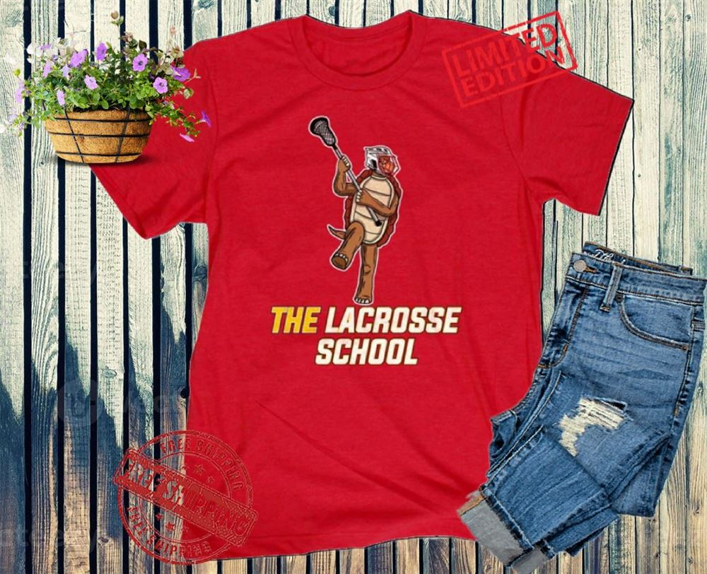The Bee's Knee T-shrirt The Lacrosse School M Tee T-shirt Hot 2021
