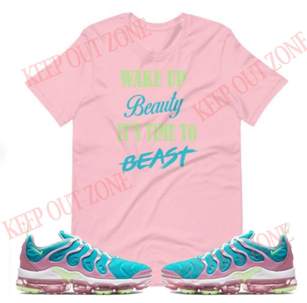 Awesome Vapormax Plus Whitebarely Volttealpink Shirt Vapormax Shirt Whitebarely Volttealpink Brilliant T-shirt