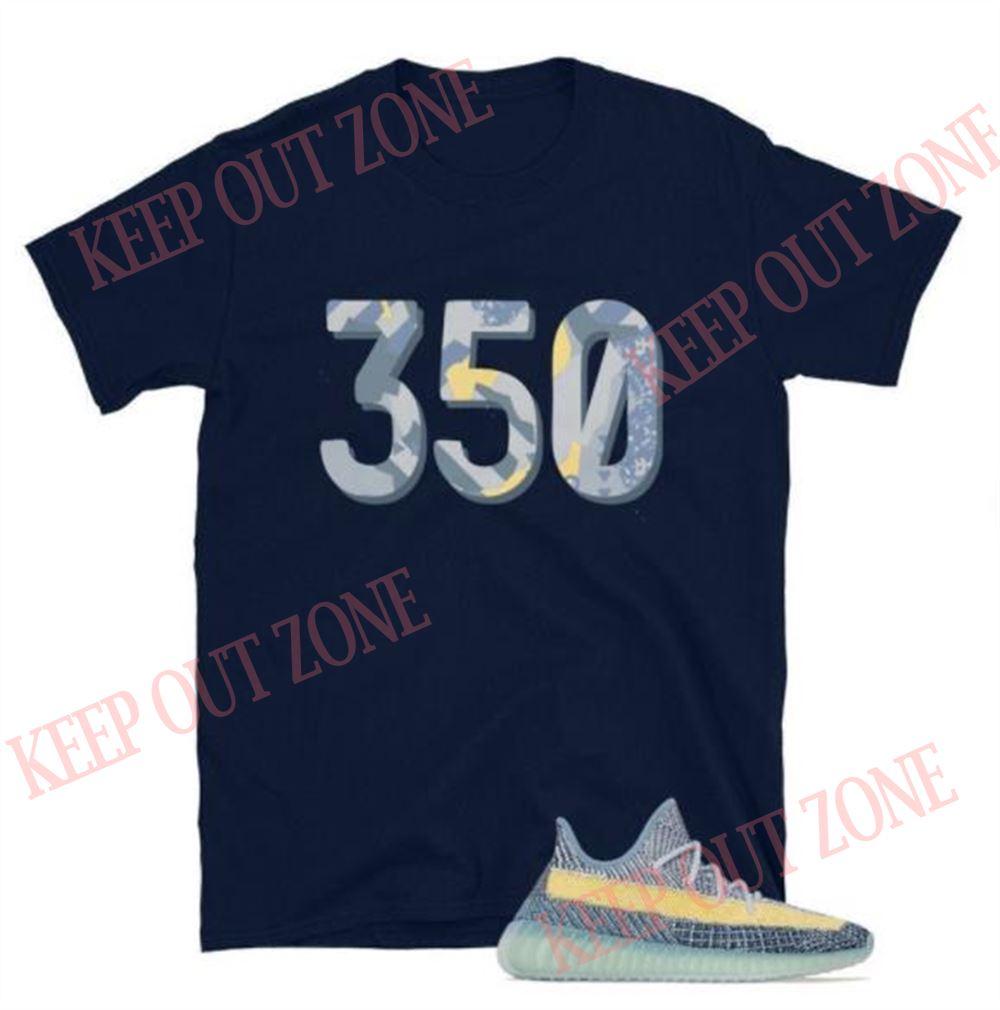 Amazing Tee Yeezy Boost 350 V2 Ash Blue Unisex T-shirt So Fabulous