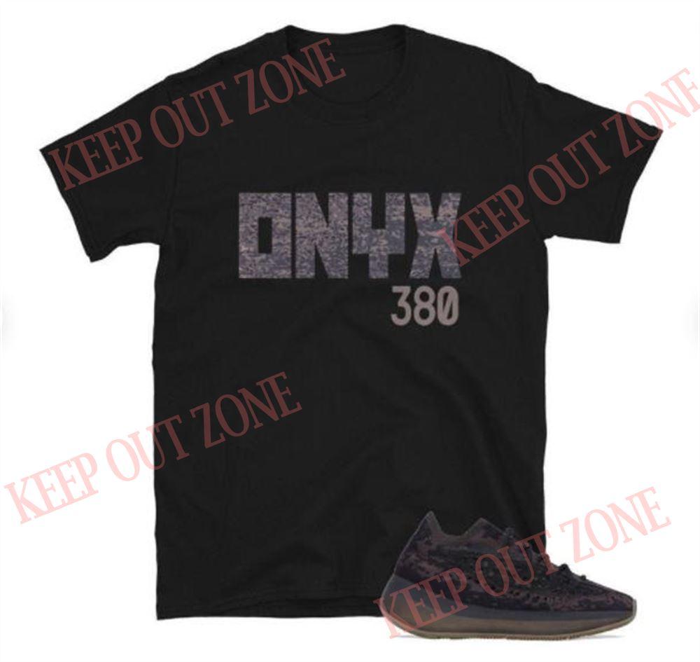 Awesome Yeezy Boost 380 Onyx Unisex T-shirt So Fabulous