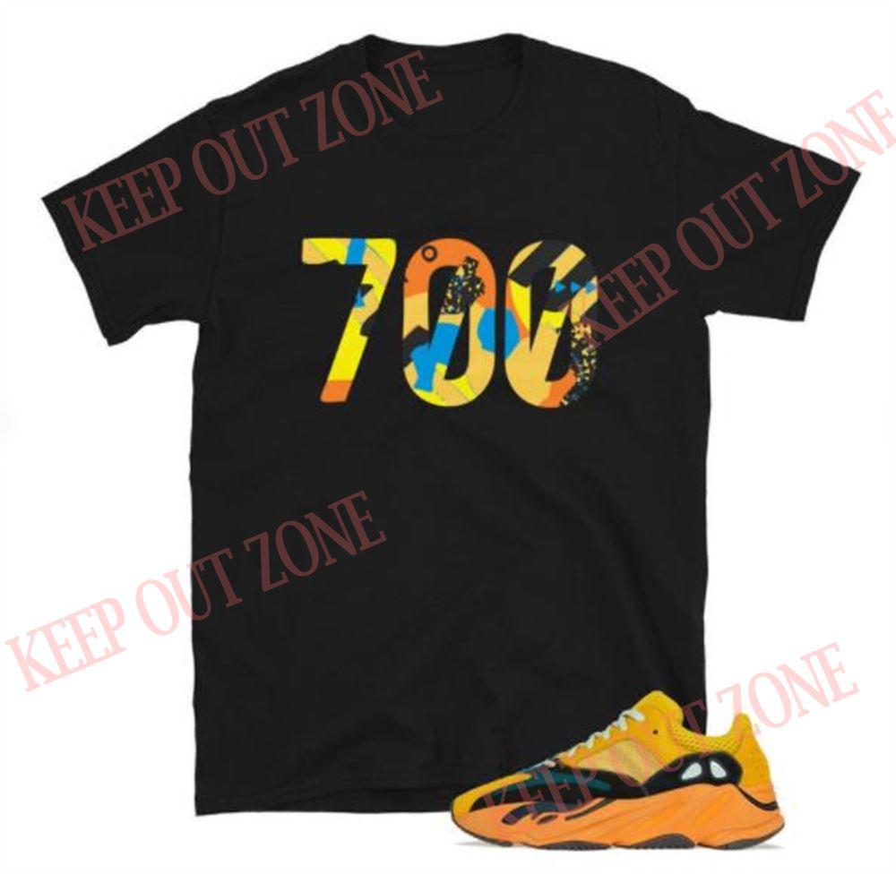 Terrific Yeezy Boost 700 Sun Unisex T-shirt So Wonderful