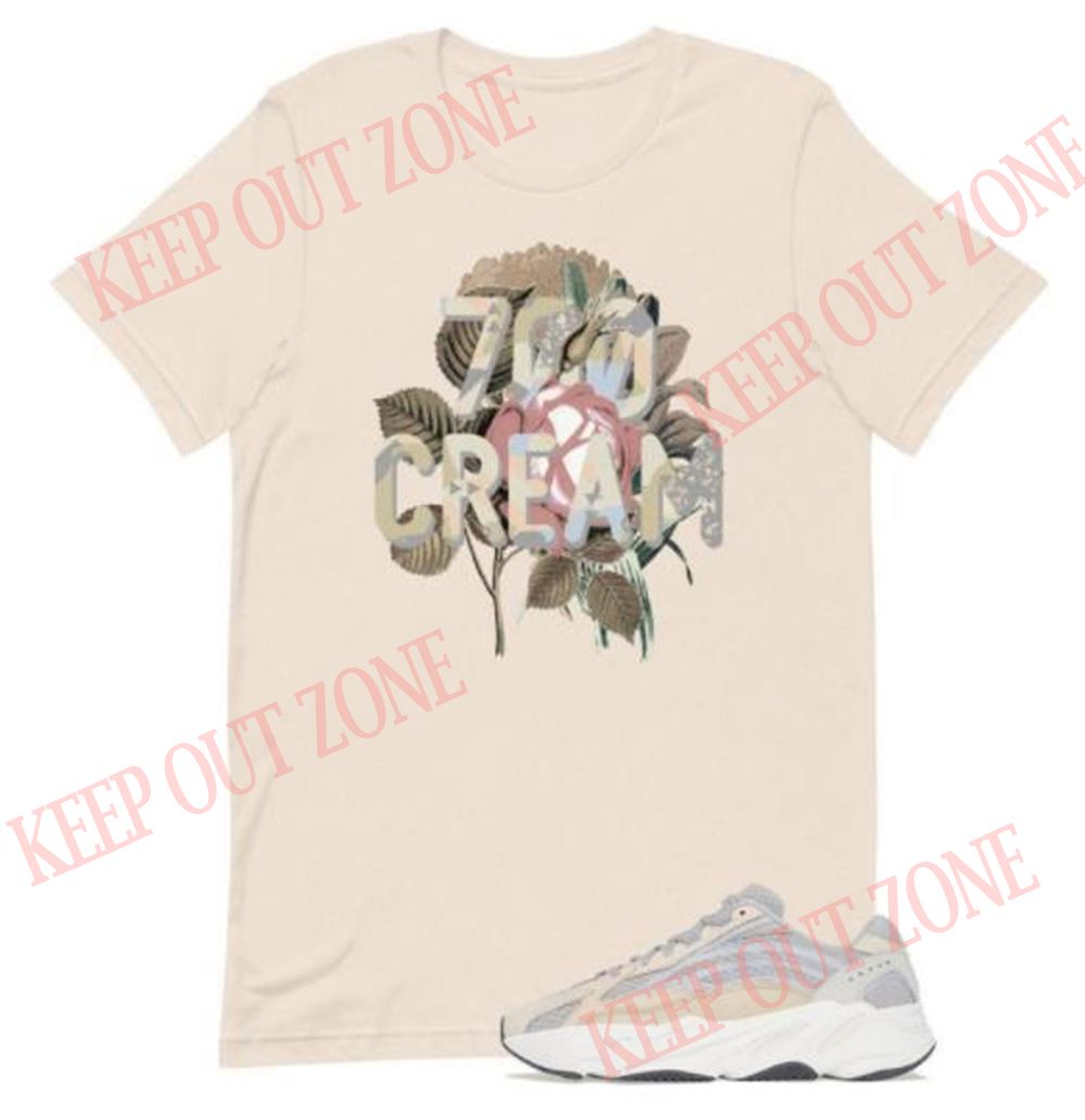 Fantastic Yeezy Boost 700 V2 Cream Unisex T-shirt New 2021