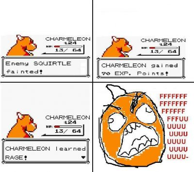 charmeleon rage