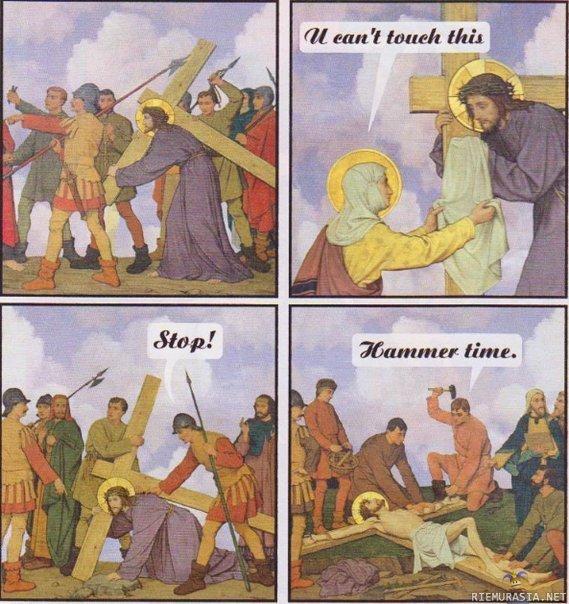 jesus hammer time