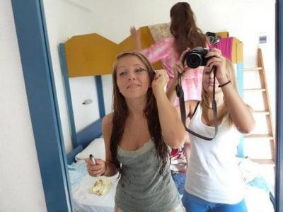 girl ass optical illusion