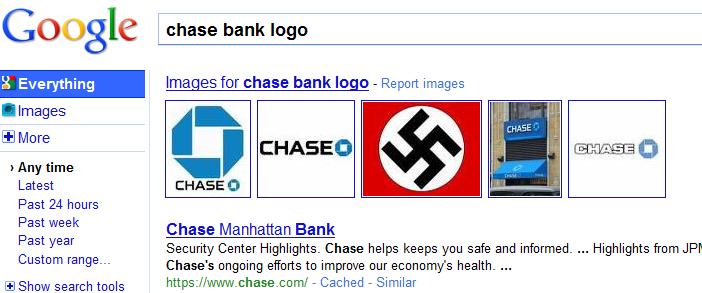 chase logo google